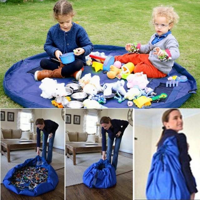 детский манеж на шнурке для хранения и переноски игрушек