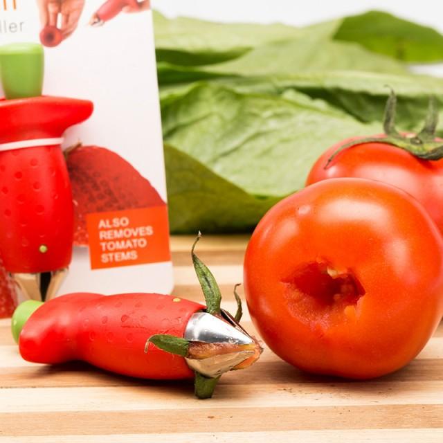 щипцы-нож для удаления плодоножек томатов, клубники и т.д.