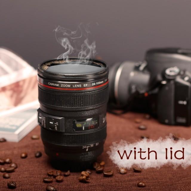 Кружка-объектив - подарок фотографу