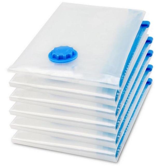 Вакуумная сумка для компактной упаковки объемных вещей