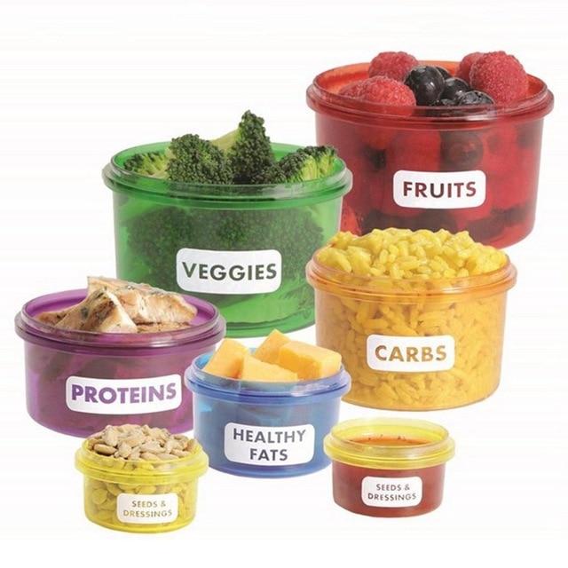 Порционные контейнеры для расчета белков, жиров и углеводов