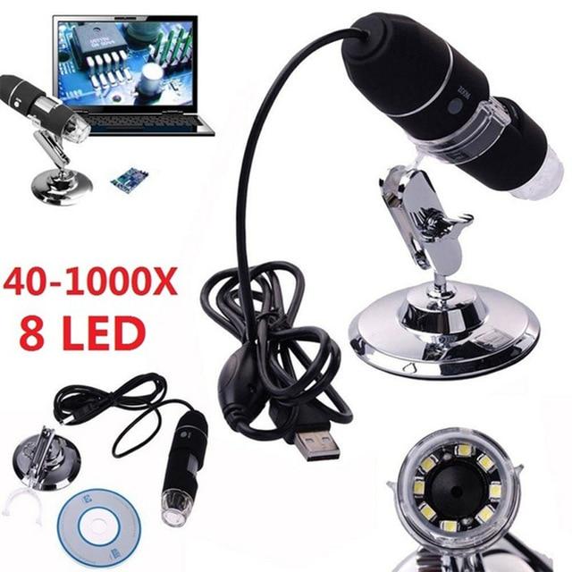 USB-микроскоп с 1000-кратным увеличением