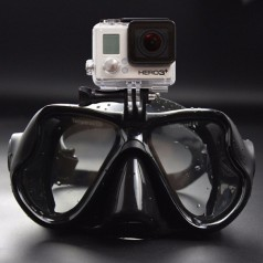 Дайвинг маска с креплением для экшн-камеры