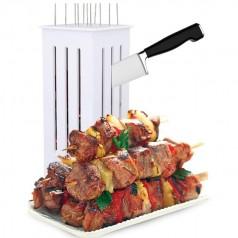 Набор для накалывания и нарезания мяса для шашлыка