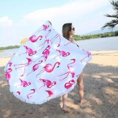 Легкое пляжное полотенце
