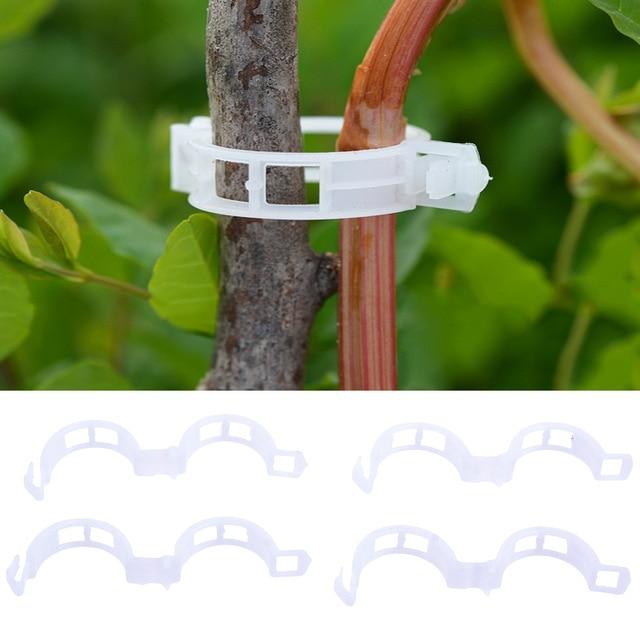 Пластиковый зажим для поддержки ветвей