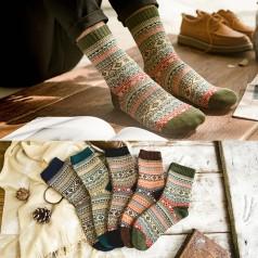 теплые зимние шерстяные носки