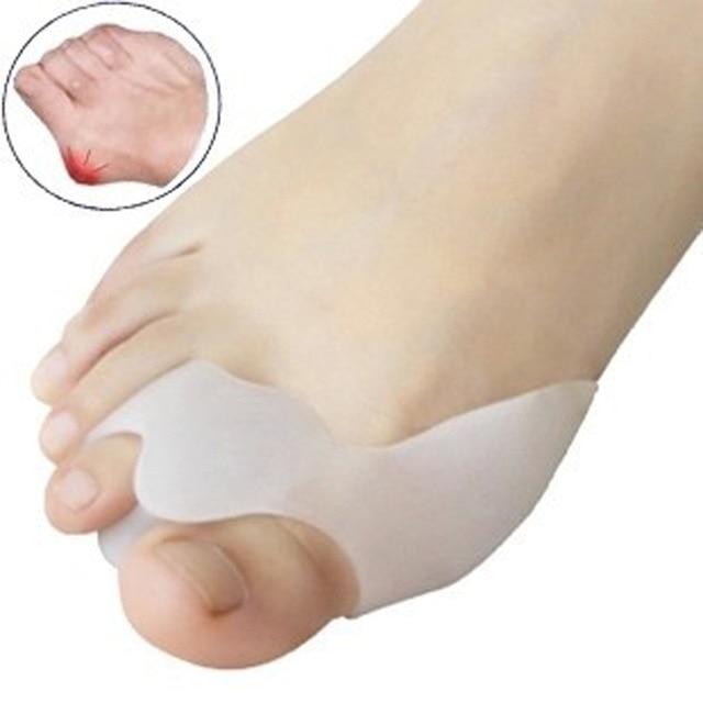 противонатирающий силиконовый разделитель для пальцев ног