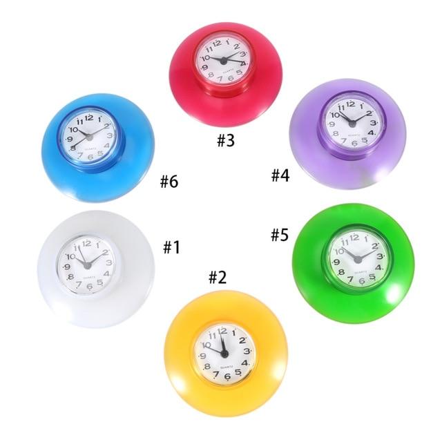 часы для ванной на силиконовой присоске