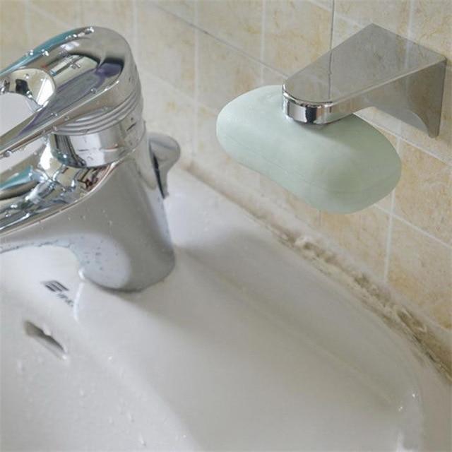 металлический держатель для мыла с зубцами