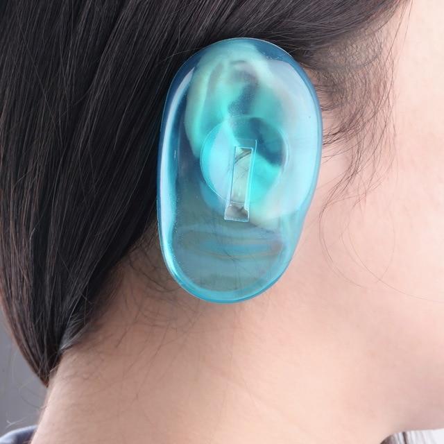 силиконовая защита для ушей при окрашивании волос
