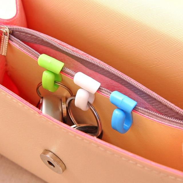 крючки-зажимы для ключей в сумку «чтобы не копаться»