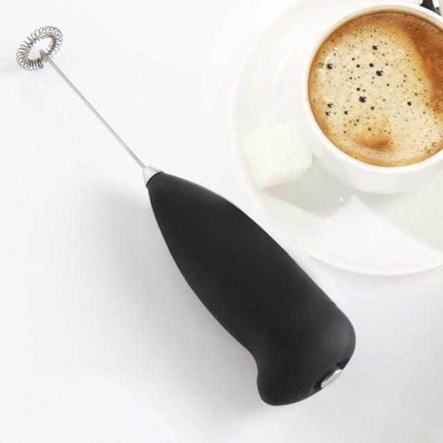 ручной взбиватель пены для приготовления капучино и латте
