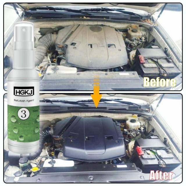 гидрофобная жидкость для восстановления пластикового и кожаного покрытия салона