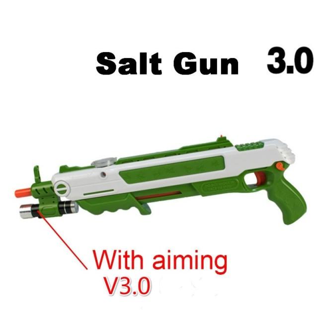 Стреляющее солью ружье для убийства мух и прочих тараканов