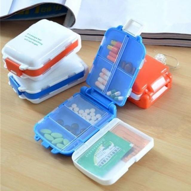 коробка для таблеток с 7 отделениями