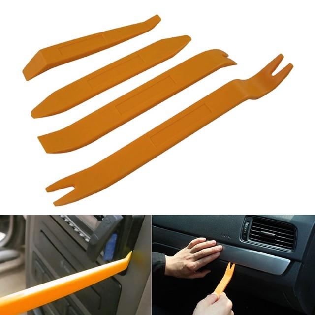 Пластиковые монтировки для снятия обшивки автомобиля