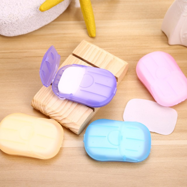 Коробочка одноразового дорожного мыла