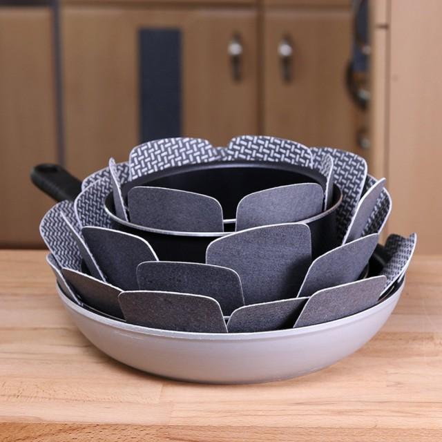 прокладки-разделители для защиты сервизов и посудных наборов