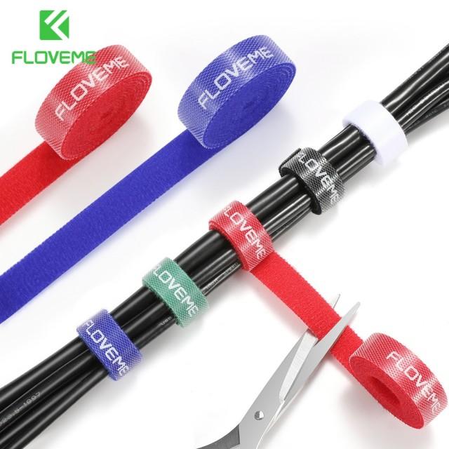 Органайзер-липучка для кабелей, шнуров и проводов